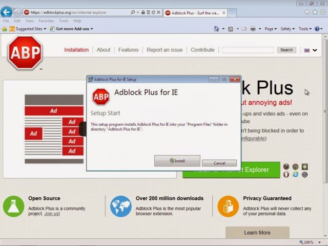 How to Install Adblock Plus for Internet Explorer in Windows 7 - Share Your Repair