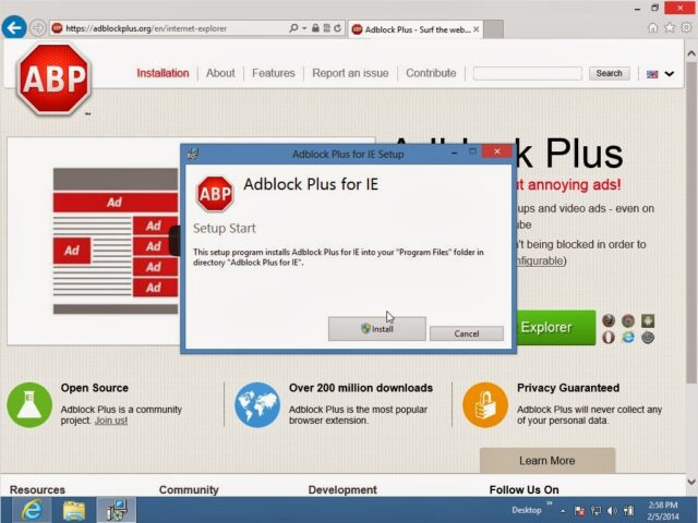 How to Install Adblock Plus for Internet Explorer in Windows 8 - Share Your Repair