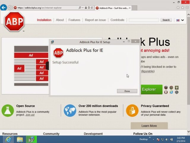 how to get adblock on internet explorer