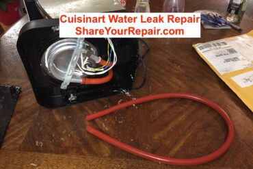Cuisinart Water Leak Repair