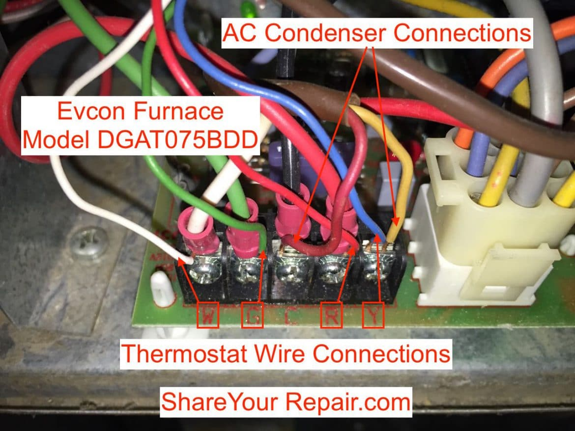 Thermostat Wiring Troubleshooting Share Your Repair