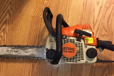 Stihl MS180C Chainsaw Trigger Repair