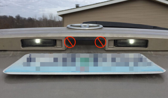 Toyota Sienna License Plate Light Bulb Replacement Share