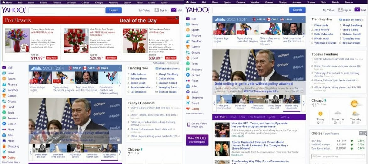 how to get yahoo on win10 internet explorer