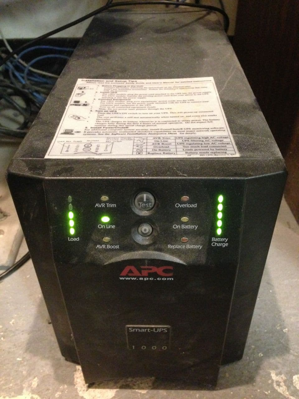 apc how to replace battery
