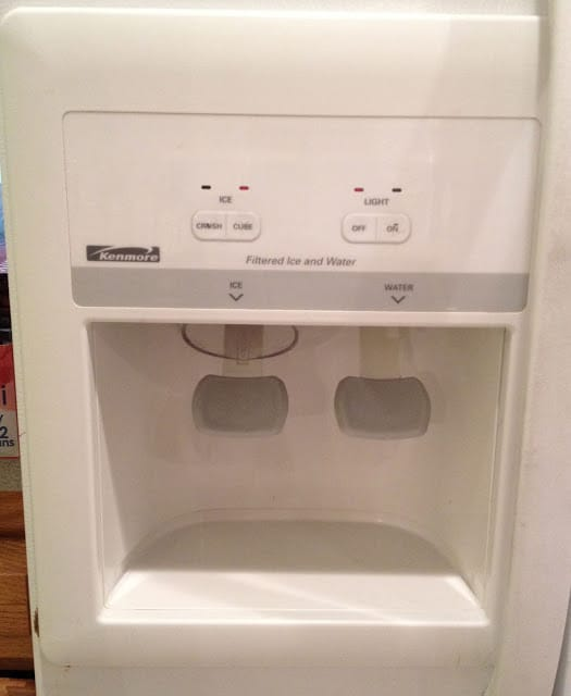 Kenmore Refrigerator Repair >> How to Remove the Control Panel Bezel on a Kenmore ...